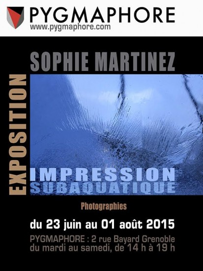 Exposition photo Impression subaquatique par Sophie Martinez