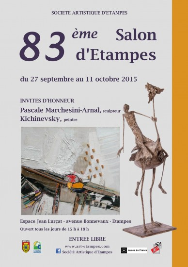 83 ème Salon d'Art d'Etampes