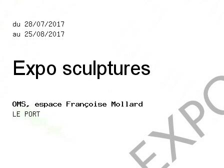 Expo sculptures