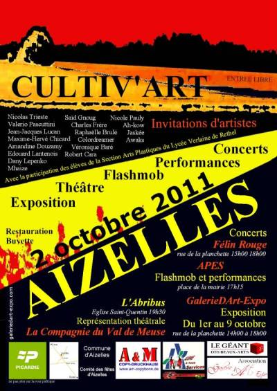 exposition cultiv'art invitations d'artistes aizelles