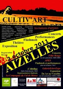 Exposition Cultiv'Art 2011 à Aizelles