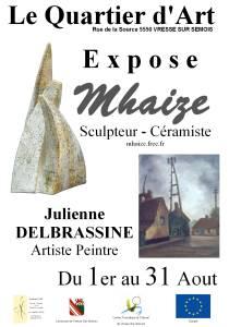 exposition Mhaize 2010 en Belgique